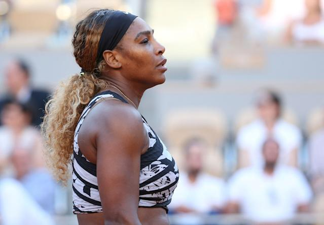 Serena Williams wasn't in the mood to wait after her French Open loss. (Photo by Jean Catuffe/Getty Images)