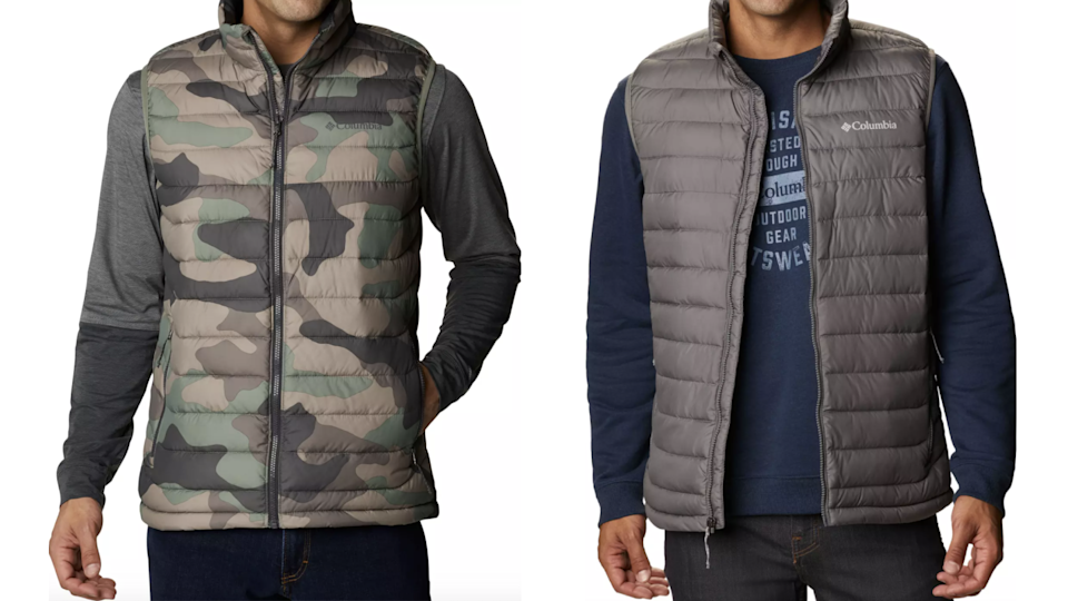 This Columbia vest even comes in big and tall sizes.