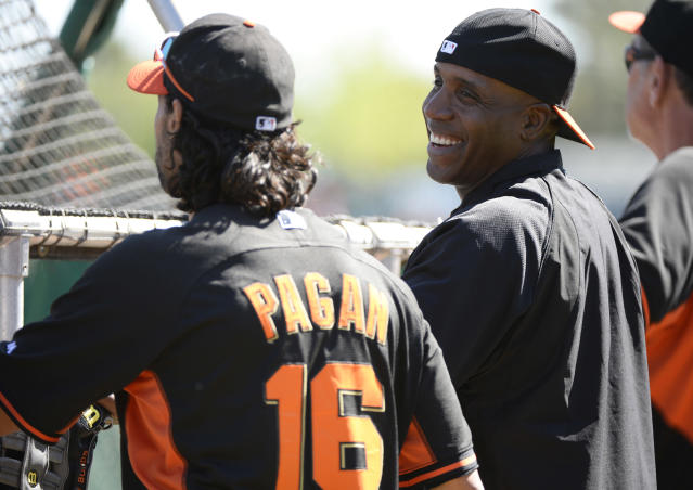 Barry Bonds took batting practice and proved he can still crush a baseball