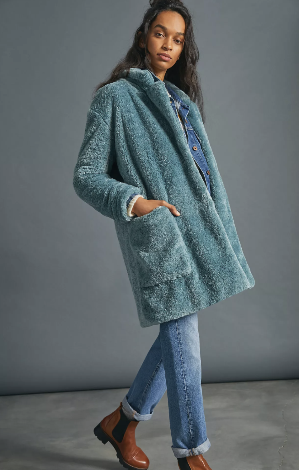 Lisanne Faux Fur Coat - Anthropologie, $110 (originally $178)