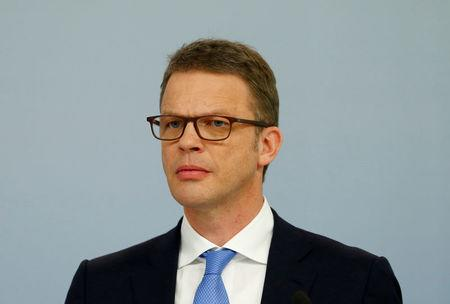 FILE PHOTO: Sewing, member of the board of Germany's Deutsche Bank is pictured in Frankfurt