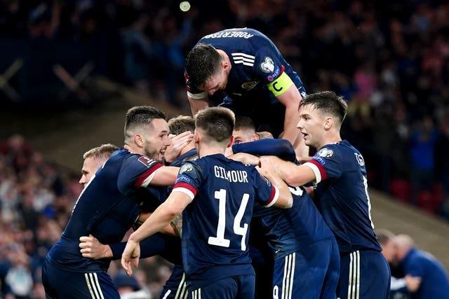 Scotland are on course for a play-off place