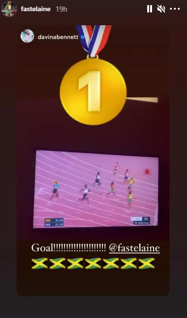 Olympic sprint champion kicked off Instagram for posting footage of her own race