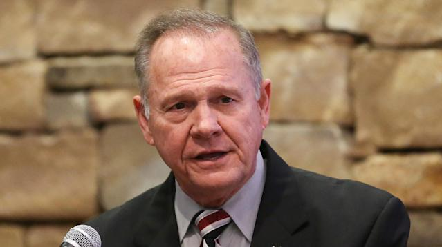 Sixth Roy Moore Accuser Comes Forward, Says He Groped Her In 1991