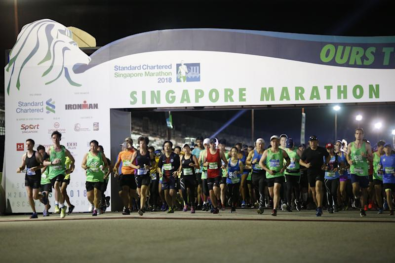 FILE PHOTO: Standard Chartered Singapore Marathon