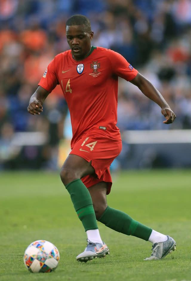 William Carvalho in action for Portugal (Mike Egerton)