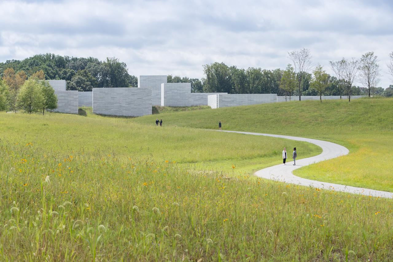 This year saw the newest addition to the Glenstone, a previously completed space that allows visitors to experience art, architecture, and nature in a way most museums could never offer. The latest section was the Pavilions, a 240,000-square-foot expansion increases the capacity for visitors from 25,000 to 100,000 annually, making it one of the world's largest private museums. The expansion consists of a series of discrete masonry forms that house a single artist's work. Each structure will have a window facing a central courtyard, while one room will face outwards toward the landscape, gently tugging the museumgoers' attention to reveal the splendors of Potomac's landscape.