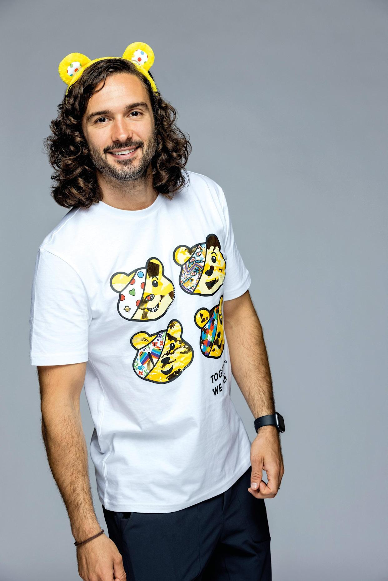 Joe Wicks MBE supports BBC Children in Need Together We Can campaign