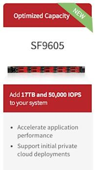 SolidFire Introduces the SF9605 Node and Flashforward Program