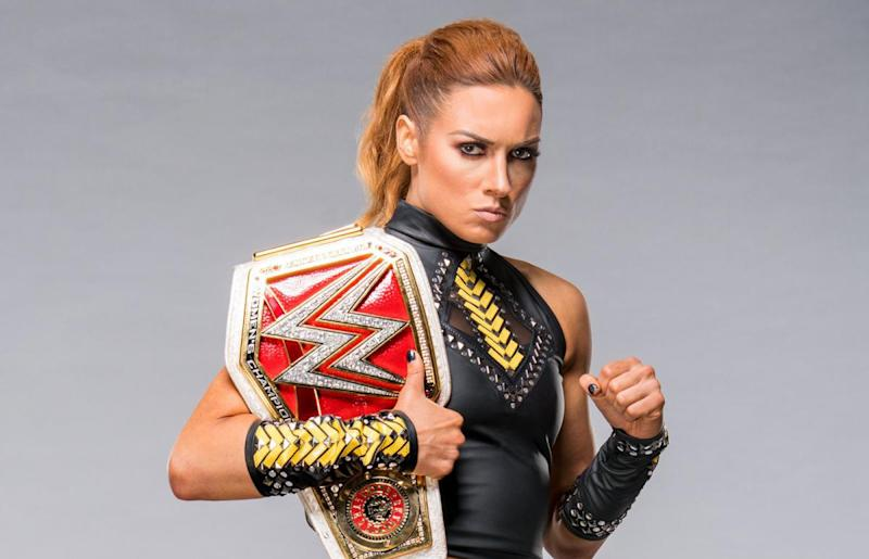 WWE Raw Women's Champion Becky Lynch. (Photo courtesy of WWE)