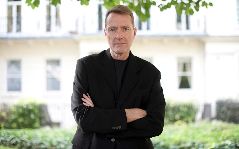 Lee Child, the bestselling author - Geoff Pugh
