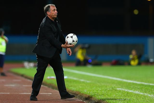 Bruce Arena was on the sidelines the night the United States failed to qualify for the 2018 FIFA World Cup. (Photo by Ashley Allen/Getty Images)