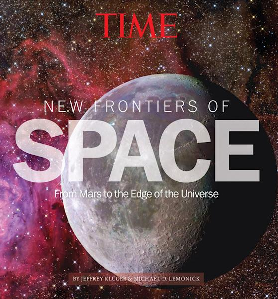 """The cover of Time's """"New Frontiers of Space: From Mars to the Edge of the Universe."""""""