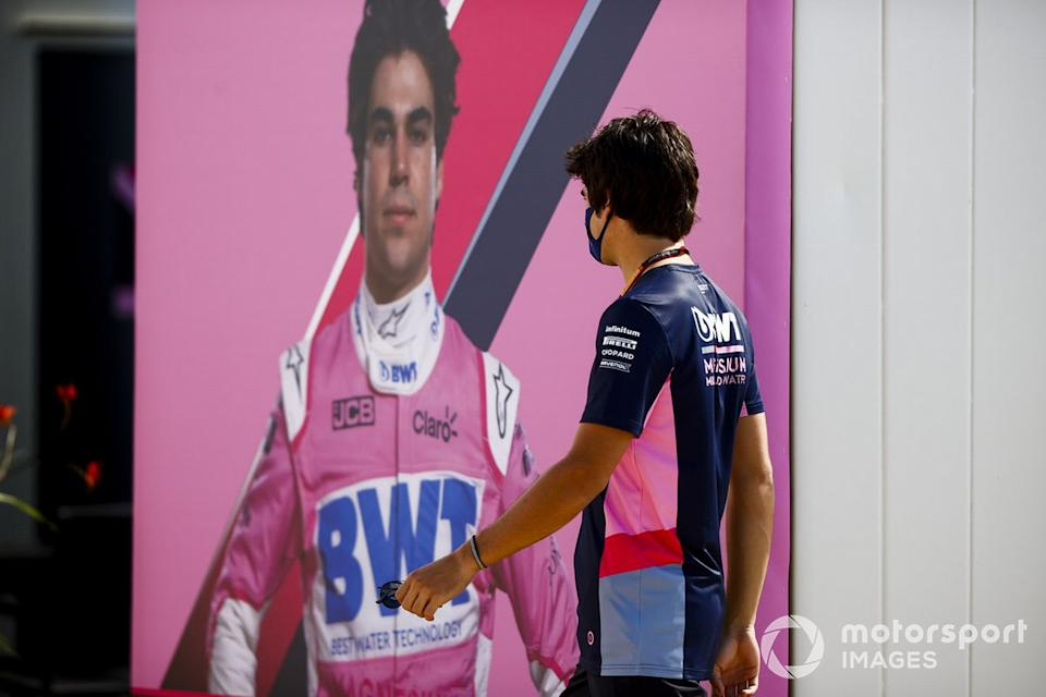 """Lance Stroll, Racing Point<span class=""""copyright"""">Andy Hone / Motorsport Images</span>"""