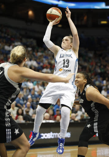 Augustus scores 18, Lynx cruise past Silver Stars