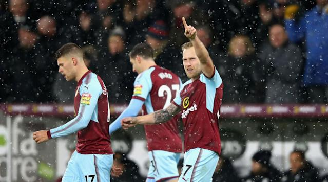 <p>Burnley secured a hard-fought 1-0 victory in an end-to-end affair against a resilient 10-man Watford side at Turf Moor on Saturday. </p><p>Despite the Hornets starting the clash like a house on fire, a red card to Marvin Zeegelaar offered the Clarets an opportunity to capitalise on the visitors need to reshuffle, as Scott Arfield calmly slotted the ball into the back of the net at the end of the first half. Sean Dyche's side then held firm to secure their seventh win of the season. </p><p>An open and free flowing game was expected between two of the Premier League's surprise packets this season, and the opening proceedings proved to be just that.</p><p>Watford rushed out of the starting blocks, pressing high up the field which forced Burnley into mistakes as they rushed in possession. The front foot approach from the visitors offered the first clear chance on goal through the in-form Richarlison, whose lunged effort from a ball whipped across the six-yard line was sent flying over the crossbar. </p><p>For all of Watford's domination on the ball however, it was the home side who came the closest to securing an early lead through Jóhann Berg Guðmundsson. </p><p>The winger's free-kick from just outside the box was curled perfectly over the seven-man wall and looked destined to nestle into the bottom right-corner, but a quick reaction and strong left-hand from Heurelho Gomes kept the scores level.</p><p>Like a yo-yo, the ball was quickly on the other side of the field, with Burnley stopper Nick Pope called into action to expertly steer the ball clear after it emerged through a number of legs following a volley from Abdoulaye Doucouré.</p><p>As the game continued to move from one end to the other with relative ease, the Hornets were dealt a significant blow when Zeegelaar was shown a straight red card in the 39th minute after his two-footed sliding tackle met the lower legs of Steven Defour, which forced Marco Silva into an early reshuffle of his side. </p><p>Whilst Watford sought to settle with 10-men, Burnley took advantage. After nicking the ball off the Hornets in their defensive half, the Clarets poured forward with Gudmundsson's pass across the box met by Arfield.</p><p>The 29-year-old shuffled to the left and sent the ball back across the keeper and into the back of the net in the 45th minute - displaying a touch of quality which was missing for the majority of the half. </p><p>The first term ended in dubious circumstances as both sides had penalty shouts turned down either side of the goal, first Watford as Richarlison appeared to be dragged down in the box, and then Burnley after they called for handball against Darryl Janmaat. </p><p>Despite being a man and goal down, the Hornets rallied at the start of the second period, as both Janmaat and Andre Carrillo were afforded space in the box in a bout of sustained pressure, which ended with Tom Cleverly lashing the ball over the crossbar. </p><p>Burnley went up the other end and thought they had added their second of the afternoon as Jack Cork bundled the ball over the line from a free-kick, but the midfielder's goal was questionably deemed to be offside. </p><p>After successfully pushing back the plucky 10-man Watford and asserting their dominance on the game, the Clarets had again thought they'd scored their second when Ashley Barnes found the ball at his feet from a ricochet, turned on the penalty spot and duly converted. </p><p>However, confusion reigned as referee Lee Probert consulted with his assistant referee and confirmed the goal was to be disallowed for offside, although replays proved the ball had touched a Watford defender first. </p><p>The final ten-minutes offered chances for both sides but Watford failed to find a breakthrough as the Clarets held firm to secure all three points. </p><p>Burnley will now turn their attention to Stoke midweek before a trip to Brighton, whilst Watford will head to Crystal Palace before hosting Huddersfield. </p>