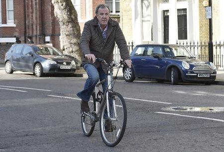British television presenter Jeremy Clarkson returns to his home in west London March 26, 2015. REUTERS/Toby Melville