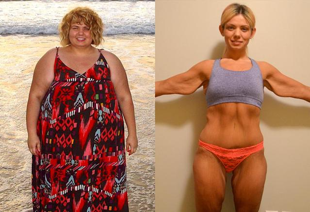 """Losing the weight changed my life completely."" (Photo: Courtesy of Michelle Sorlea)"