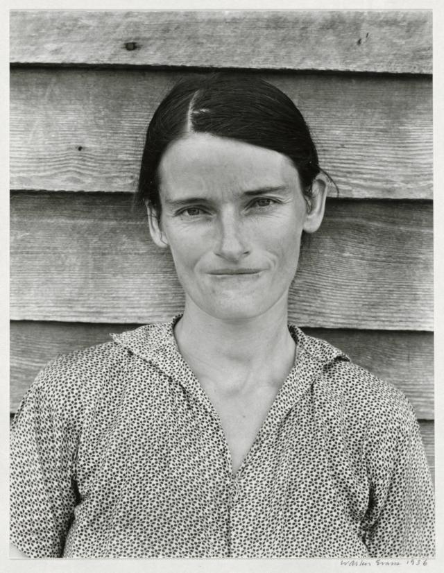 <p>Allie Mae Burroughs, wife of a cotton sharecropper, Hale County, Ala., 1936. (Photo: The Cleveland Museum of Art, Wishing Well Fund, 1973.120. © Walker Evans Archive, the Metropolitan Museum of Art) </p>