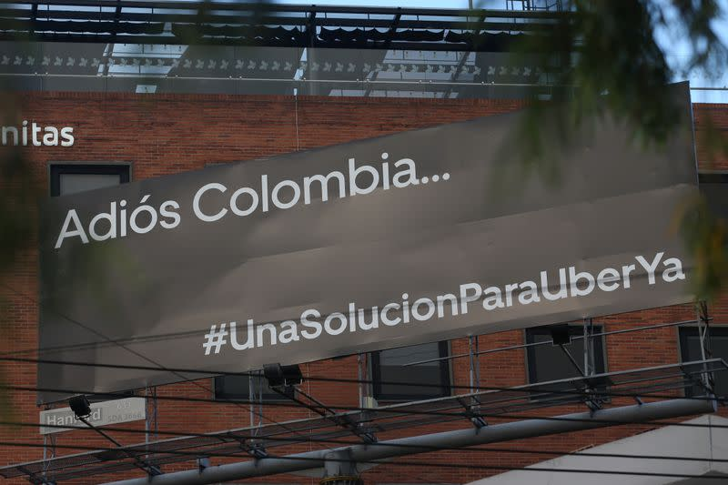 Uber ready to take dispute with Colombia to international arbitration: regional manager