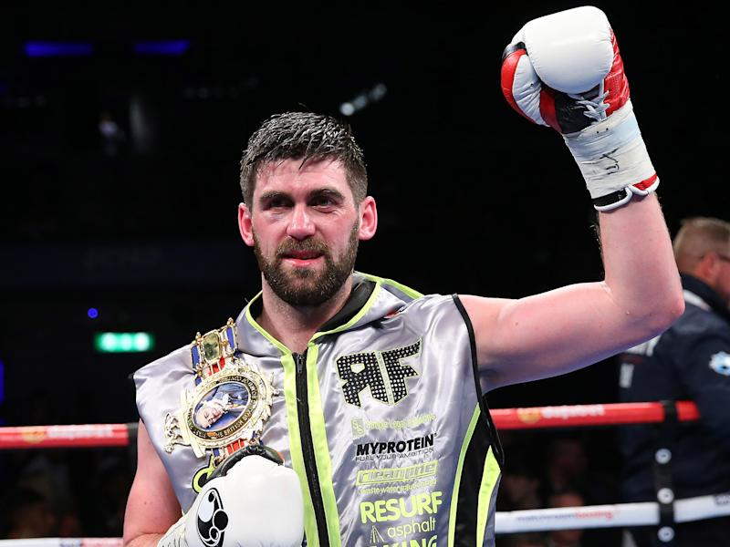 Rocky Fielding takes on David Brophy in Liverpool on Saturday night: Getty