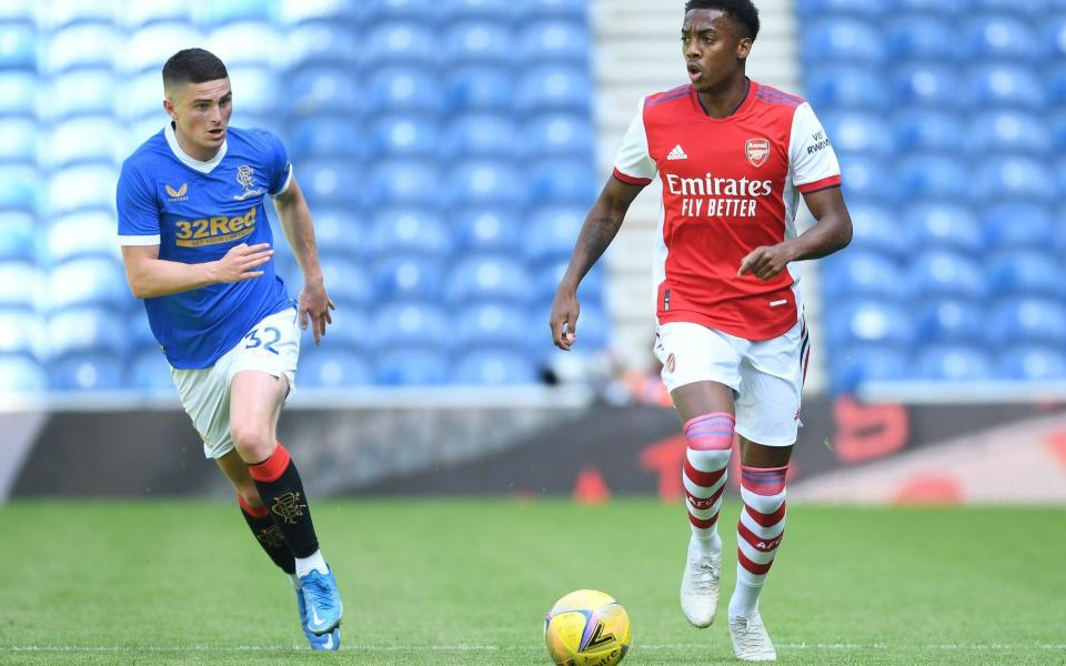 Newcastle's pursuit of Joe Willock (right) is ongoing - GETTY IMAGES