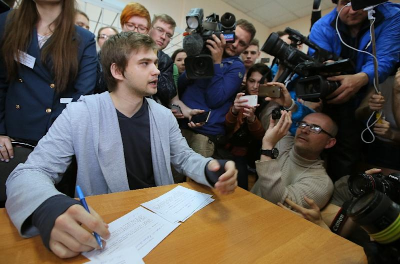 Sokolovsky, a militant atheist, was detained in August 2016 and spent nine months in jail and under house arrest