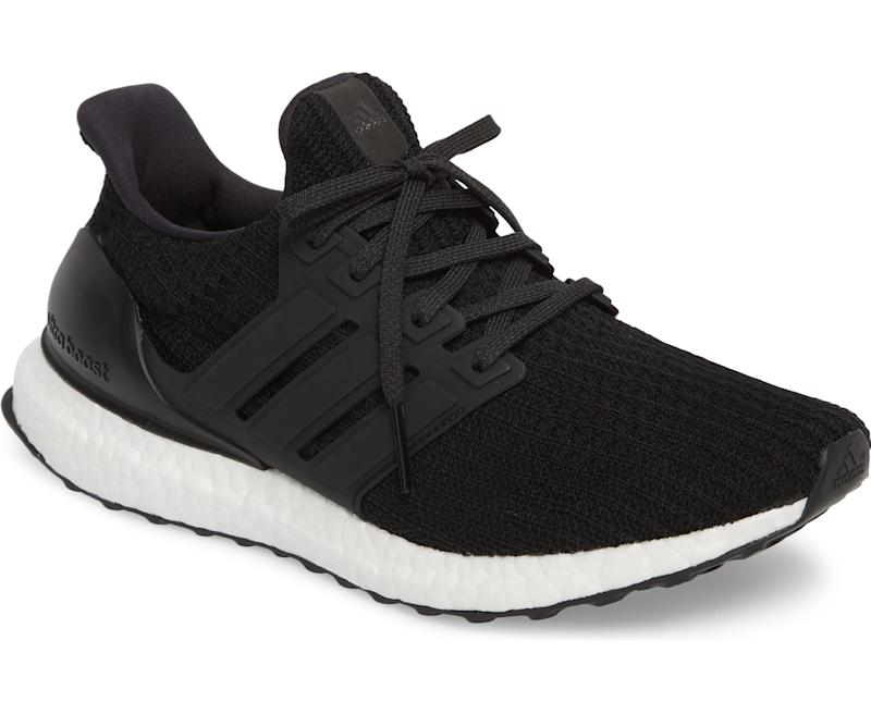 black adidas ultraboost sneakers