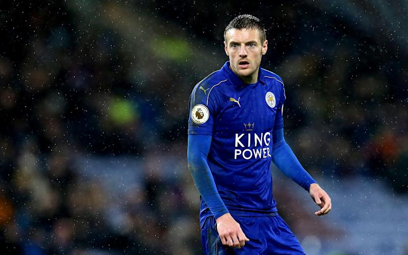 Jamie Vardy believes football fans do not seem to like him - Copyright (c) 2017 Rex Features. No use without permission.