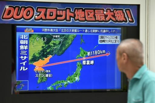 North Korea says fired missile over Japan Tuesday