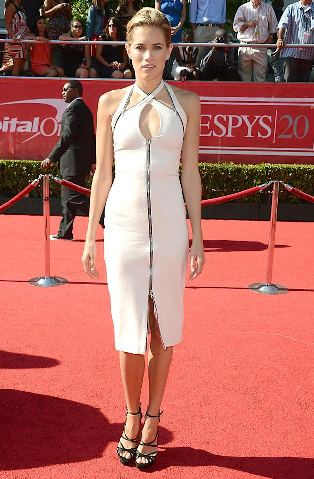 """Magic Mike"" actress Cody Horn arrives at the 2012 ESPY Awards."