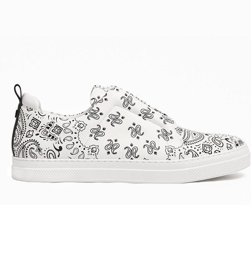 """<p><strong>Pierre Hardy</strong></p><p>pierrehardy.com</p><p><strong>$530.00</strong></p><p><a href=""""https://www.pierrehardy.com/us_en/men/shoes/sneakers/jx02n-slider-sneakers-cwb.html"""" rel=""""nofollow noopener"""" target=""""_blank"""" data-ylk=""""slk:Buy"""" class=""""link rapid-noclick-resp"""">Buy</a></p><p>But if you fancy yourself more of a patterns type of dude, the high-end sneaker savants at Pierre Hardy have you covered. </p>"""
