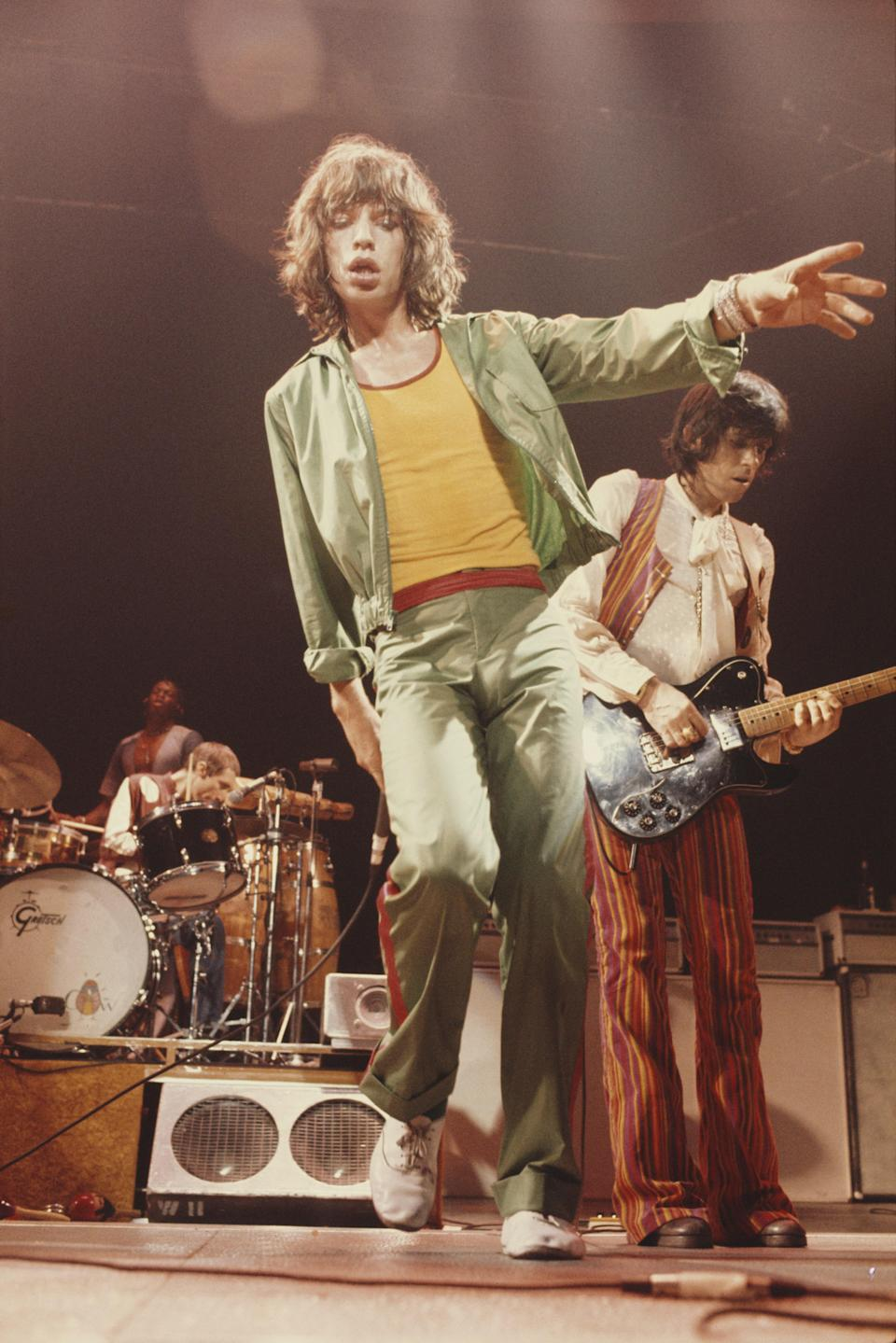 Mick Jagger in his Repettos.
