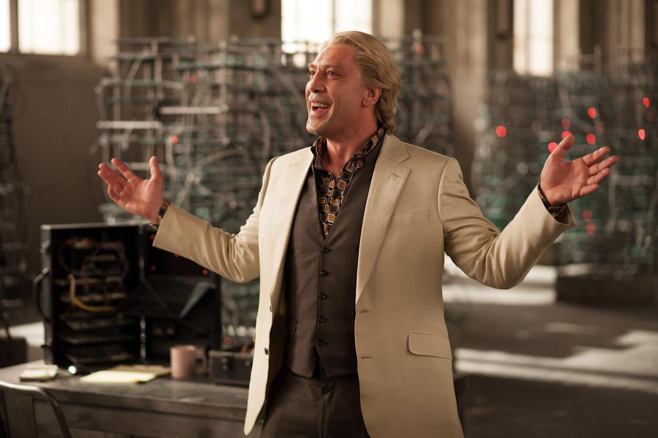 Javier Bardem stars in Metro-Goldwyn-Mayer Pictures/Columbia Pictures/EON Productions... action adventure SKYFALL.