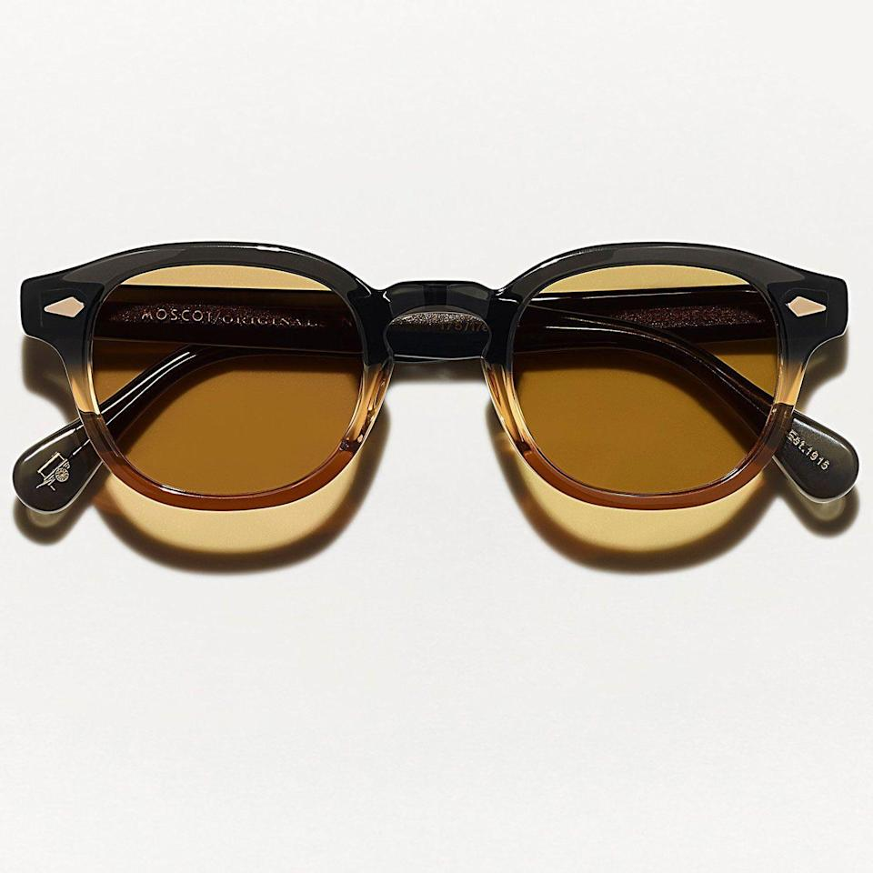 """<p><strong>Moscot</strong></p><p>moscot.com</p><p><strong>$360.00</strong></p><p><a href=""""https://moscot.com/products/limited-edition-lemtosh-sun-summer-2021?variant=39392809353278"""" rel=""""nofollow noopener"""" target=""""_blank"""" data-ylk=""""slk:Shop Now"""" class=""""link rapid-noclick-resp"""">Shop Now</a></p><p>The future may be bright, but it's hard to beat vintage inspiration when it comes to your shades.</p>"""