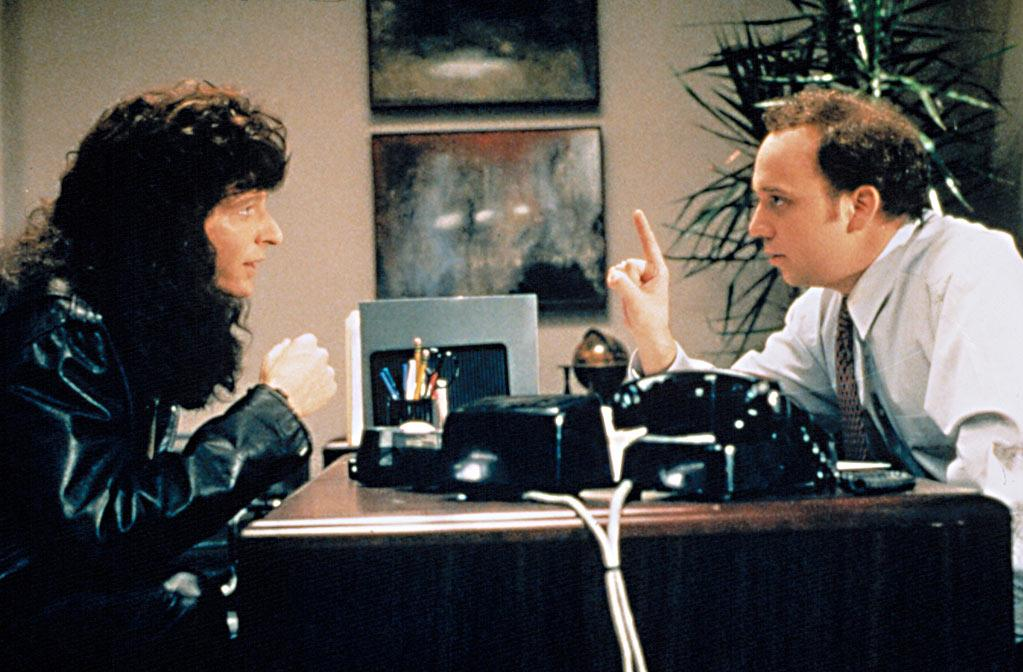 """<a href=""""http://movies.yahoo.com/movie/1800024095/info"""">Private Parts</a> (1997): Howard Stern's biopic -- based on his memoir, and starring Stern as himself, of course -- provided an early major role for Giamatti. He was known by the delightful nickname """"Pig Vomit,"""" and was a barely fictionalized version of the program director who tormented Stern at WNBC Radio, forcing him to repeatedly say the station's call letters in a sing-songy voice: """"W-Ehhhhhn-B-C."""" Eventually, he gets so annoyed with the shock jock's antics, he calls Stern the anti-Christ. Late last year on Stern's radio show, while promoting """"Barney's Version,"""" Giamatti said he didn't know he was playing a real guy: """"All I knew was that I was supposed to have this kind of stupid Southern accent."""" But he left a lasting impression, as always."""