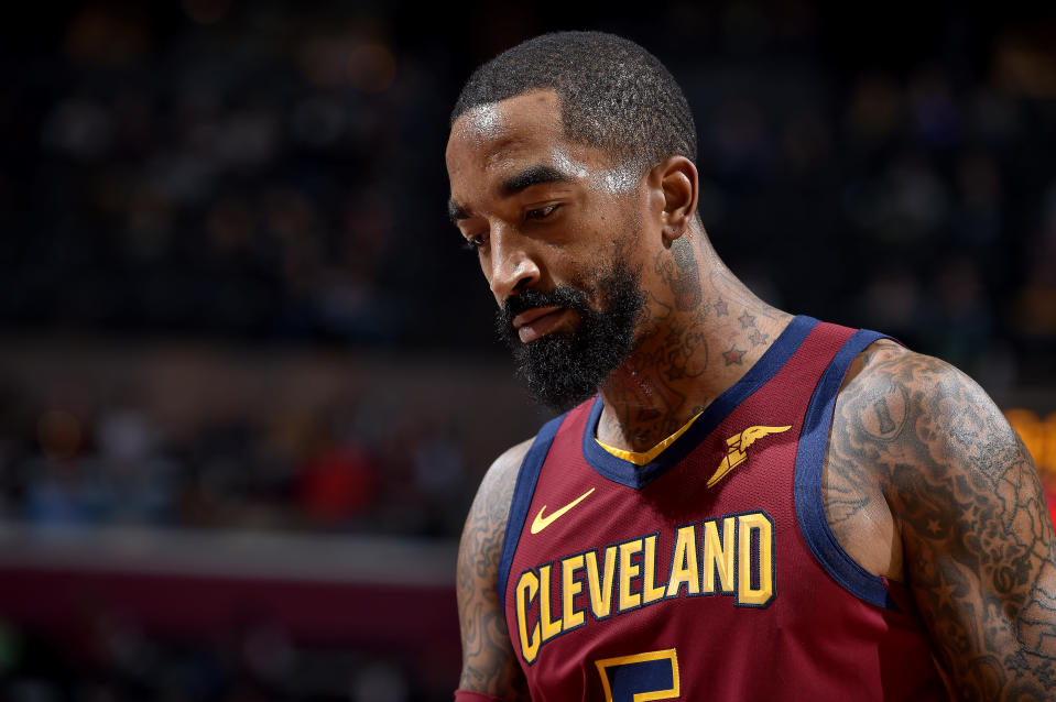 J.R. Smith doesn't want to play for a team that doesn't intend to win games. Copyright 2018 NBAE (Photo by David Liam Kyle/NBAE via Getty Images)