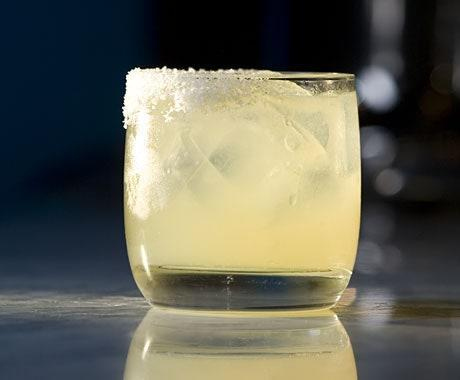 "Only half the glass gets a salted rim in this recipe from bartender Eben Freeman. And there's just a touch of Cointreau, which lets the tequila and fresh lime shine through. <a href=""https://www.epicurious.com/recipes/food/views/margarita-242524?mbid=synd_yahoo_rss"" rel=""nofollow noopener"" target=""_blank"" data-ylk=""slk:See recipe."" class=""link rapid-noclick-resp"">See recipe.</a>"