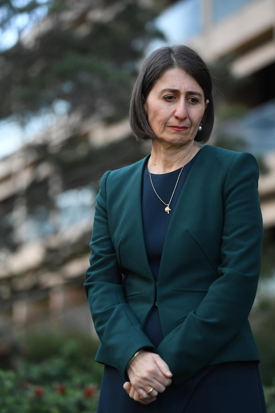 NSW Premier Gladys Berejiklian confessed on Monday that Daryl Maguire was never her boyfriend. Source: AAP