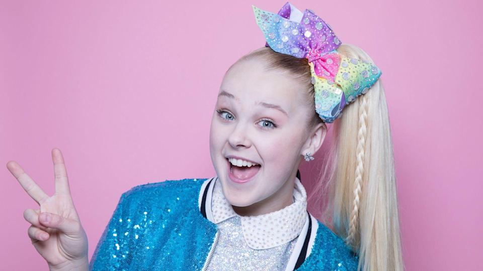 Mandatory Credit: Photo by Amy Sussman/Invision/AP/Shutterstock (10031543p)JoJo Siwa poses for a portrait in New YorkJoJo Siwa Portrait Session, New York, USA - 10 Dec 2018.