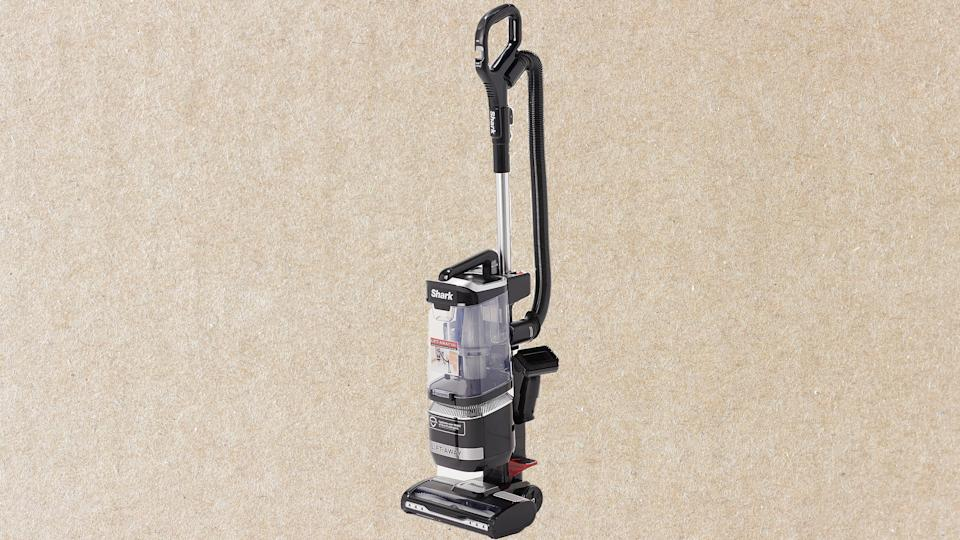This Shark Navigator vacuum is a larger version of our favorite affordable upright vacuum, and it's $40 off at QVC.