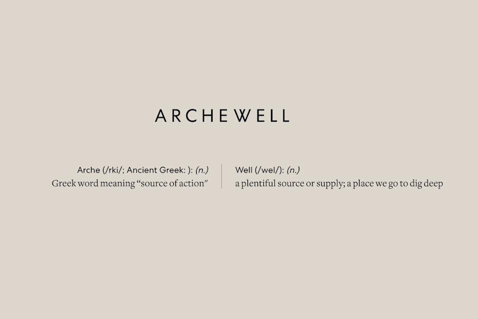 archewell website, home of foundation by harry and meghan