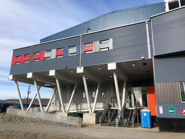 The new 112-bed Aaqqigiravik Correctional Healing Facility in Iqaluit. A grand opening was help Wednesday for the facility, which will replace the notorious Baffin Correctional Centre.  (Nick Murray/CBC - image credit)