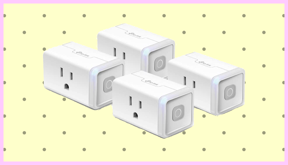 Save 46 percent on this Kasa Smart Plug four-pack. (Photo: TP-Link)