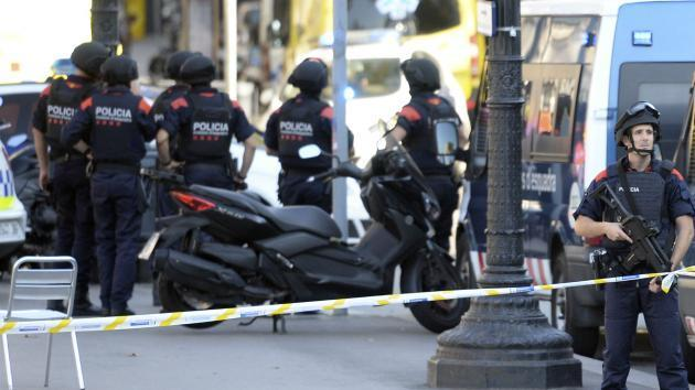 Driver Suspected of Barcelona Van Attack Found, Shot Dead