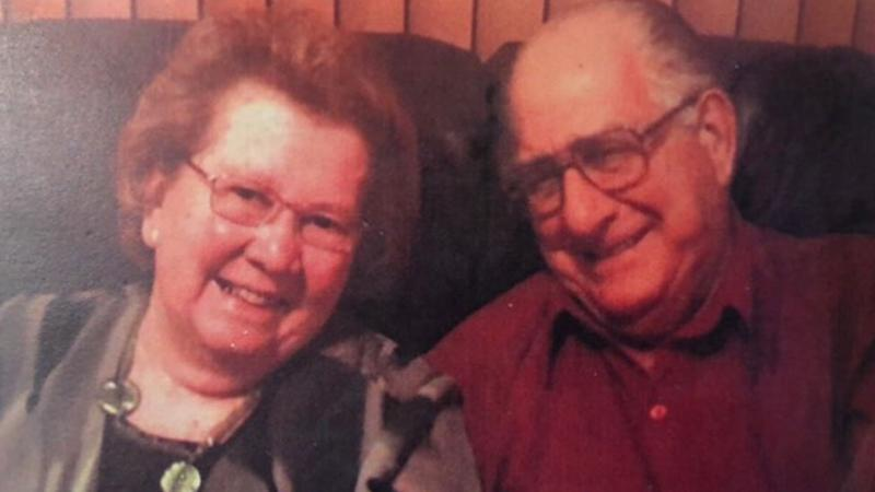 Harry and Shirley were married for 67 years. Source: Supplied.