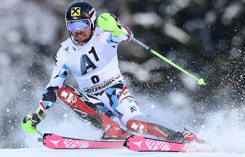 Ski - Hirscher scorches to Kitzbuehel slalom win