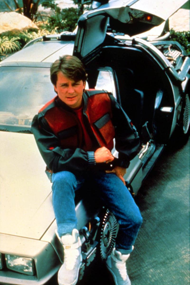 bd03407357c29 Michael J. Fox's 'Back to the Future II' Nikes go up for auction