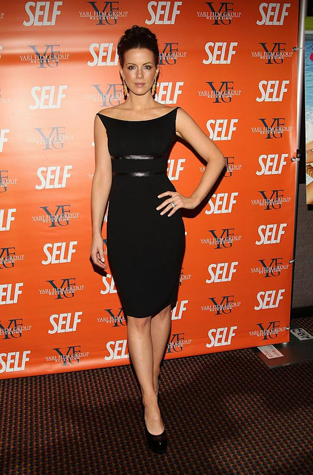 """<a href=""""http://movies.yahoo.com/movie/contributor/1800020790"""">Kate Beckinsale</a> at the New York screening of <a href=""""http://movies.yahoo.com/movie/1809944318/info"""">Nothing But the Truth</a> - 11/13/2008"""