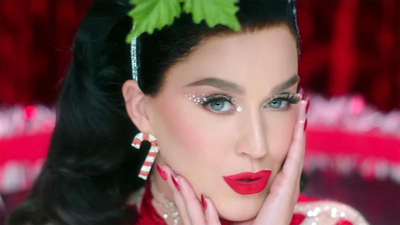 Katy Perry is a sexy Santa Claus in 'Cozy Little Christmas' shoot
